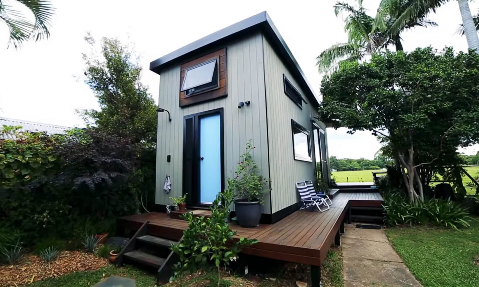 A zen tiny house in New Zealand